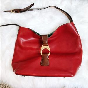 DOONEY & BOURKE Authentic Red and Green Leather
